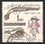 Sellos del Mundo : Europa : Checoslovaquia : pistola del fusil