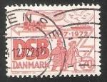 Sellos de Europa - Dinamarca -  DSB - Ferrocarriles Estatales Daneses