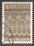 Sellos de Europa - Dinamarca -  Encaje