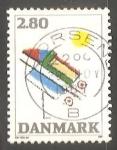 Sellos de Europa - Dinamarca -  Arte