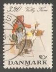 Sellos de Europa - Dinamarca -  Mujer de Valby