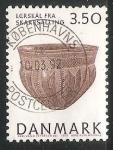 Sellos del Mundo : Europa : Dinamarca : Tesoros del museo nacional
