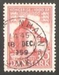 Stamps Denmark -  Castillo