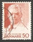 Stamps Denmark -  Carl Nielsen