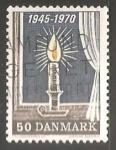 Stamps Denmark -  1945-1970 Liberación de los campos nazis