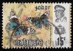 Sellos del Mundo : Asia : Malasia : Johore-cambio