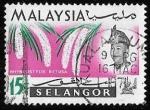 Sellos del Mundo : Asia : Malasia : Selangor-cambio