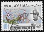 Sellos del Mundo : Asia : Malasia : Kedah-cambio