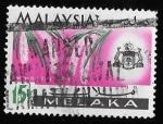 Sellos de Asia - Malasia -  Melaka-cambio