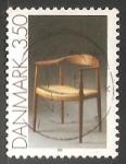 Sellos de Europa - Dinamarca -  Arte aplicado muebles
