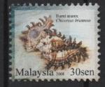 Sellos de Asia - Malasia -  MUREX  QUEMADO