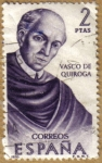 Stamps Europe - Spain -  Vasco de Quiroga, Mexico - Forjadores de America