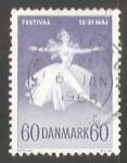 Sellos de Europa - Dinamarca -  Ballet