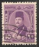 Sellos de Africa - Egipto -  King Farouk