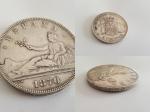 monedas del Mundo : Europa : España :  PLATA DE LEY 5 PESETAS - 1870 ORIGINAL España