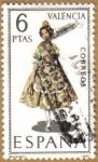 Stamps Europe - Spain -  VALENCIA - Trajes tipicos españoles