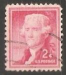 Sellos de America - Estados Unidos -  Jefferson