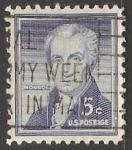 Sellos de America - Estados Unidos -  James Monroe