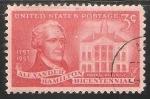 Sellos de America - Estados Unidos -  Alexander Hamilton