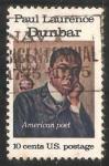 Sellos de America - Estados Unidos -  Paul Laurence Dunbar