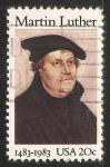 Sellos de America - Estados Unidos -  Martín Lutero