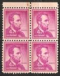 Sellos del Mundo : America : Estados_Unidos :  Abraham Lincoln