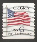 Stamps United States -  Bandera Old Glory