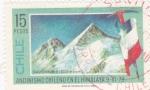 Sellos de America - Chile -  ANDINISMO CHILENO EN EL HIMALAYA