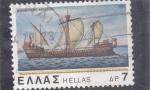 Stamps Greece -  BARCO DE EPOCA