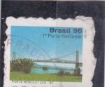 Sellos de America - Brasil -  PUENTE