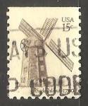 Sellos del Mundo : America : Estados_Unidos : Molinos de viento - Virginia 1720