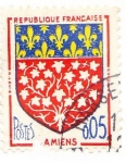 Stamps France -  amiens