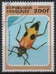 Sellos de Africa - Togo -  ESCARABAJO  SEMANOTUS  RASSICUS.