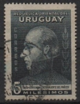 Sellos de America - Uruguay -  GENERAL  JOSÉ  ARTIGAS