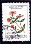Stamps : Asia : Argentina :  FLOR-CHINITA DEL CAMPO