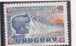 Sellos de America - Uruguay -  RECUPERACION NACIONAL