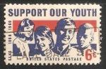 Sellos de America - Estados Unidos -  Apoyo a nuestra juventud