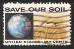 Stamps United States -  Salve nuestro suelo