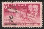 Sellos del Mundo : America : Estados_Unidos : Los hermanos Wright