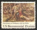 Sellos de America - Estados Unidos -  Batalla de Oriskany