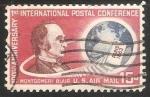 Sellos de America - Estados Unidos -  1 º aniversario  Conferencia Postal Internacional