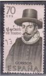 Stamps Spain -  Francisco de Toledo (24)