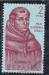 Stamps Spain -  Fray Junipero Serra (24)