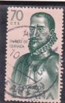Stamps Spain -  Jimenez de Quesada (24)