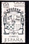 Sellos de Europa - España -  Escudo de los Losada (24)