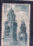 Stamps Spain -  Catedral de Morella-Mejico (24)