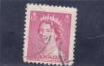 Stamps : America : Canada :  Reina Isabel II