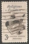 Sellos de America - Estados Unidos -  Libertad de religión en los Estados Unidos