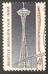 Sellos de America - Estados Unidos -  exposición internacional de sello