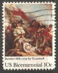 Sellos de America - Estados Unidos -  Batalla de Bunker Hill